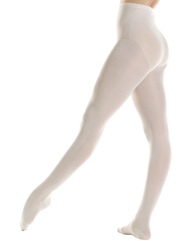 Mondor 345C - Durable Nylon Footed Dance Tights Girls - Dance Tights - Footed Tights - Dancewear Centre Canada