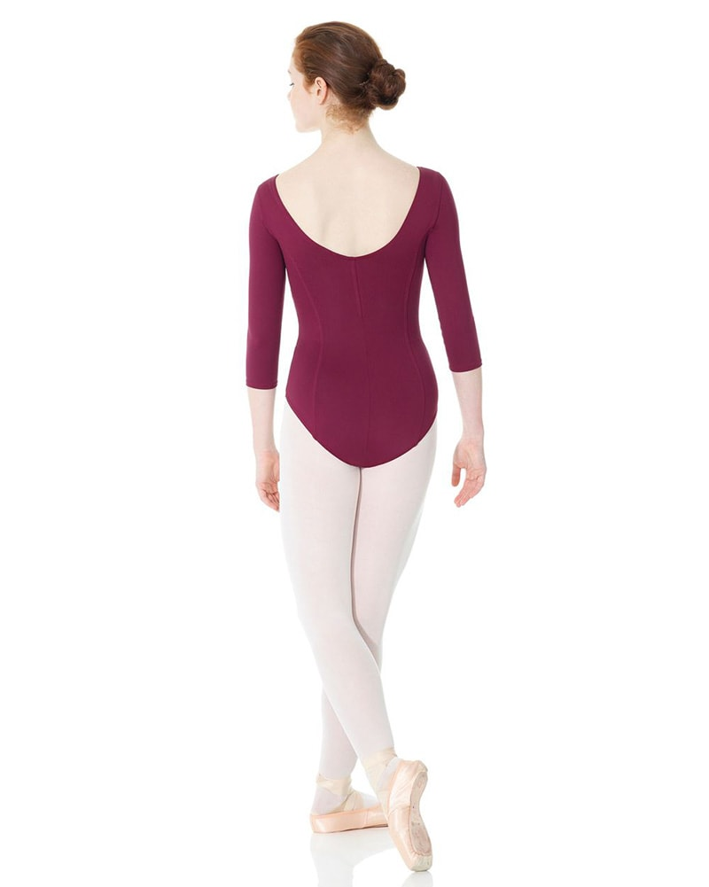 Mondor Dance Matrix 3/4 Sleeve Leotard - 3508 Womens - Dancewear - Bodysuits & Leotards - Dancewear Centre Canada
