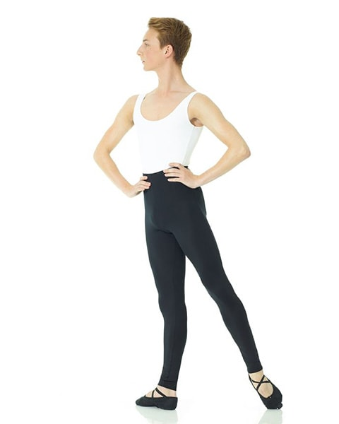 Mondor 3538 - Footless Tactel RAD Dance Tights Mens - Dance Tights - Mens & Boys Tights - Dancewear Centre Canada