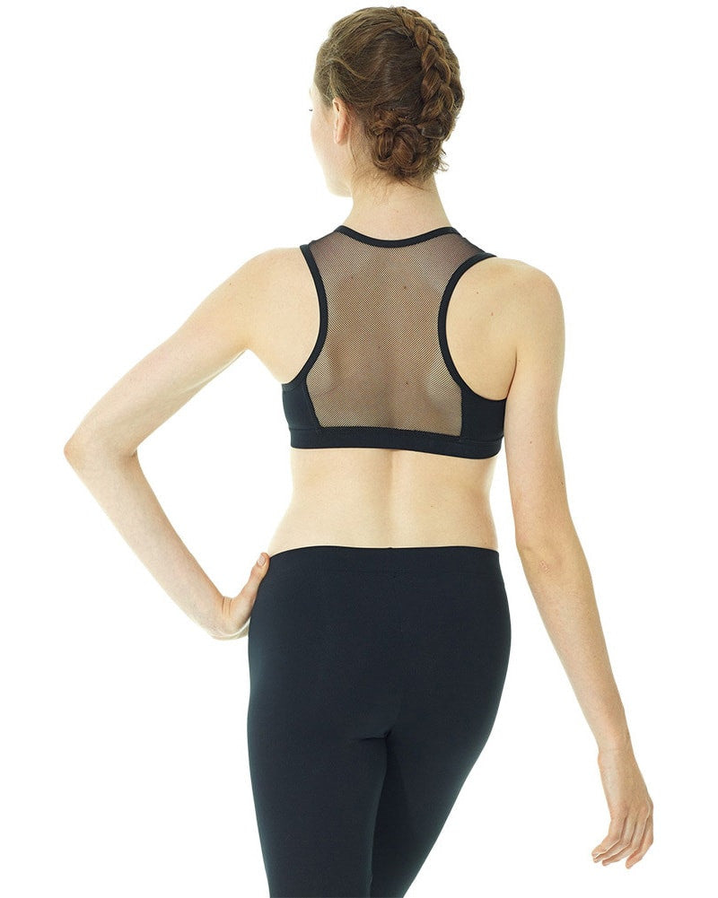 Mondor Mesh Racer Back Crop Top - 3603 Womens - Dancewear - Tops - Dancewear Centre Canada