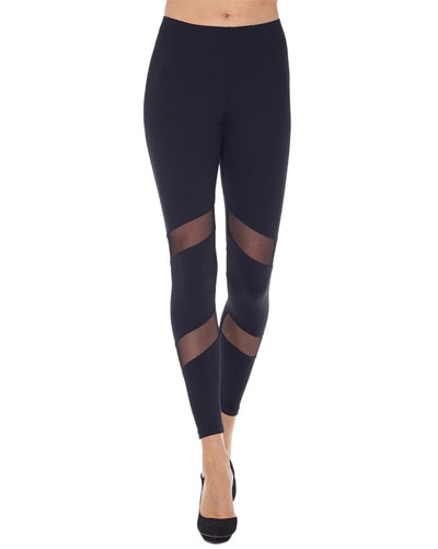 Mondor 3604 - Matrix Athletic Mesh Insert Dance Leggings Womens - Dancewear - Bottoms - Dancewear Centre Canada