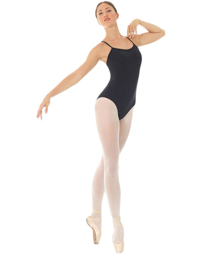 Mondor 3622 - Mesh Tech Cross Back Camisole Leotard Womens - Dancewear - Bodysuits & Leotards - Dancewear Centre Canada