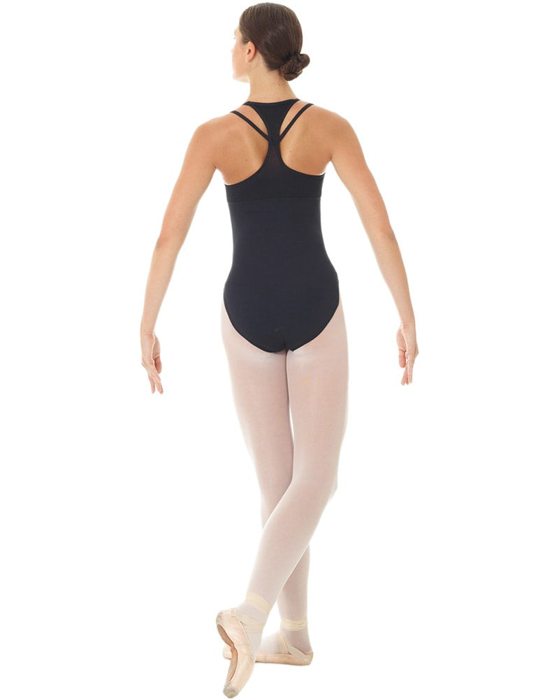 Mondor Mesh Tech Dance Matrix Camisole Leotard - 3623 Womens - Dancewear - Bodysuits & Leotards - Dancewear Centre Canada