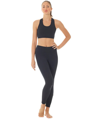 Mondor Matrix Athletic Calf Mesh Insert Dance Leggings - 3625 Womens - Dancewear - Bottoms - Dancewear Centre Canada