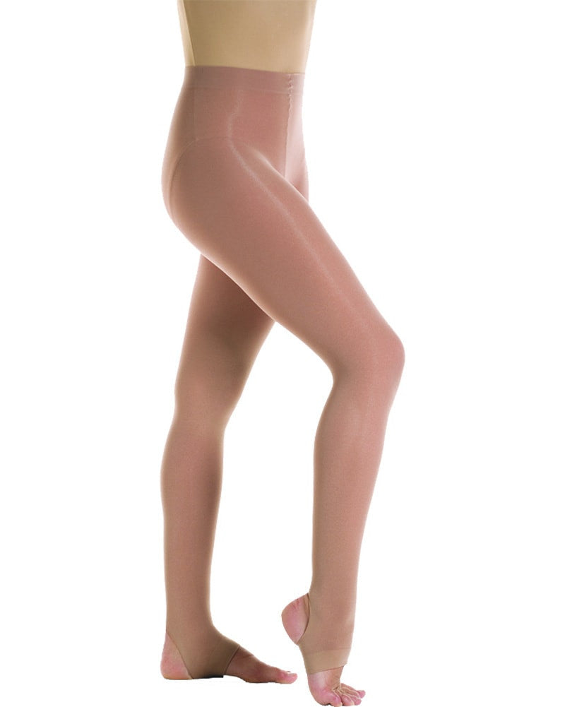 Mondor 362C - Microfibre Ultra Soft Stirrup Dance Tights Girls - Dance Tights - Stirrup Tights - Dancewear Centre Canada