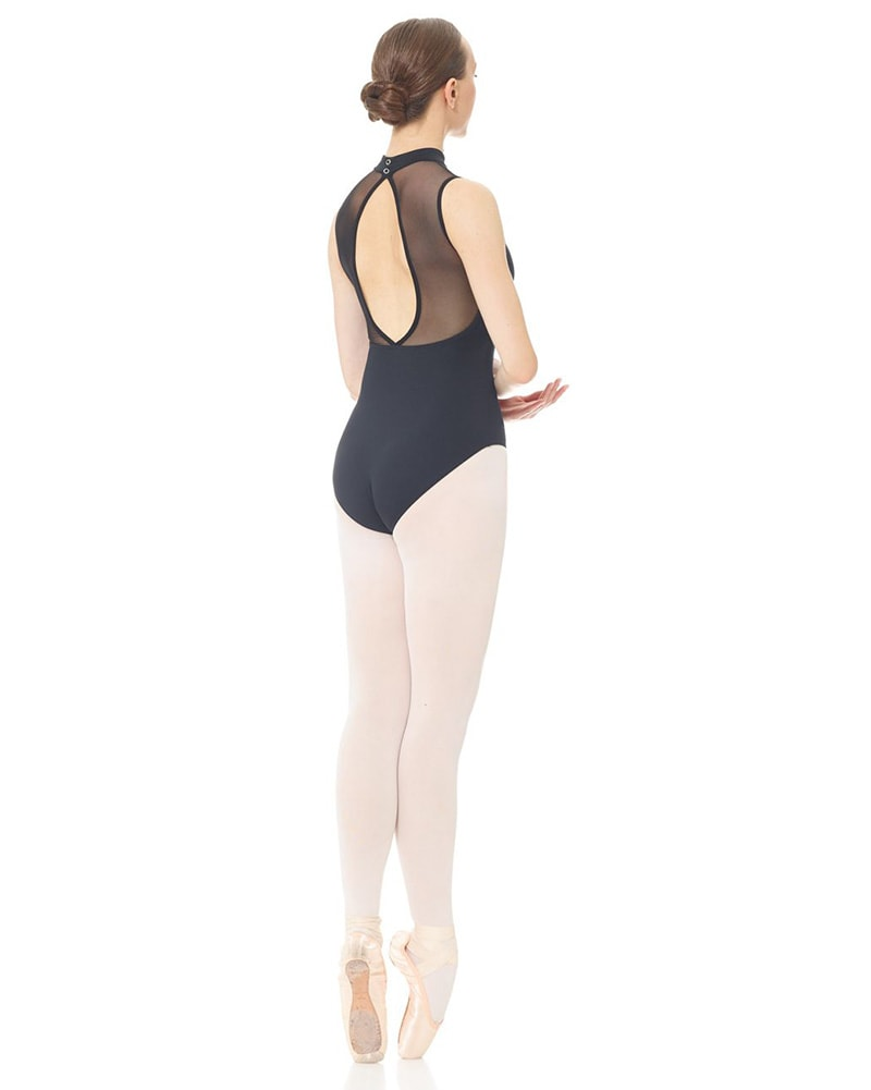 Mondor Keyhole Back Mesh Tactel Sleeveless Leotard - 3634 Womens - Dancewear - Bodysuits & Leotards - Dancewear Centre Canada