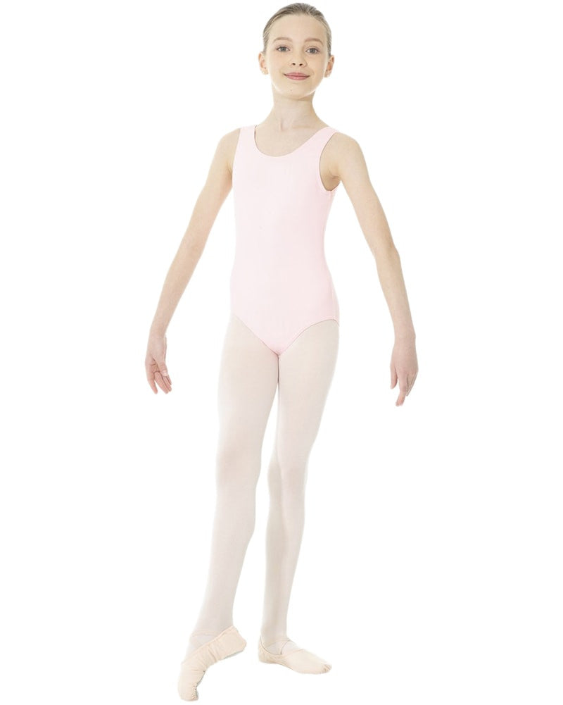 Mondor Essentials Classic Cut Tank Leotard - 40095C Girls