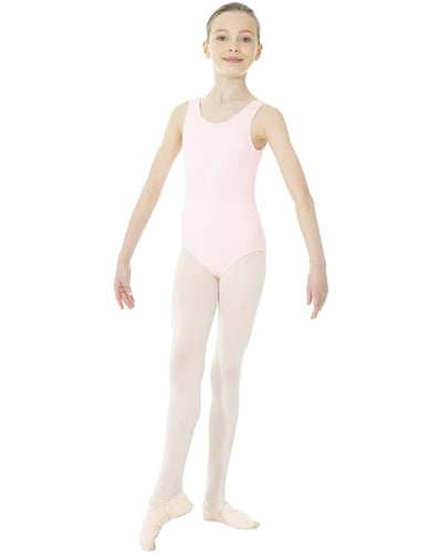 Mondor 40095C - Essentials Classic Cut Tank Leotard Girls - Dancewear - Bodysuits & Leotards - Dancewear Centre Canada