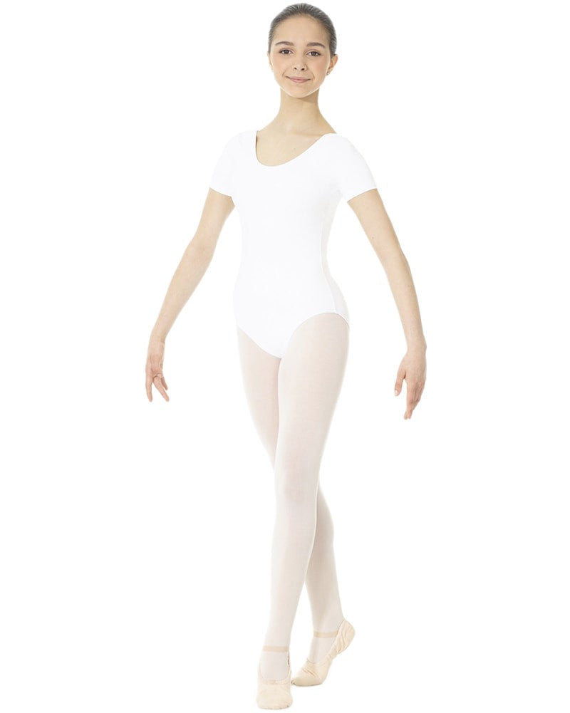 Mondor Essentials Classic Cut Short Sleeve Leotard - 40096 Womens - Dancewear - Bodysuits & Leotards - Dancewear Centre Canada