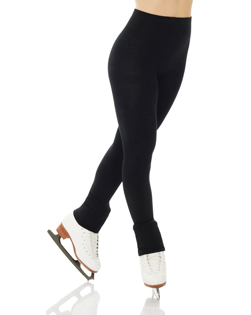 Mondor Plush Fleece Lined Warm Up Skating Legging - 4790C Girls