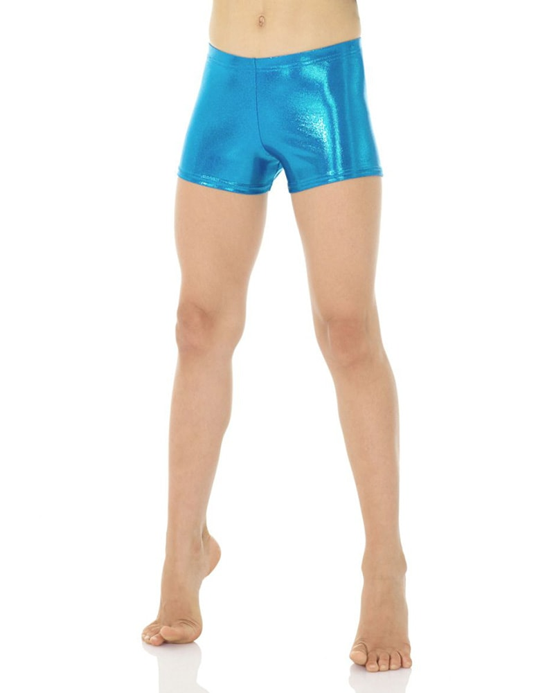 Mondor Metallic Gymnastic Shorts - 7825C-7895C Girls