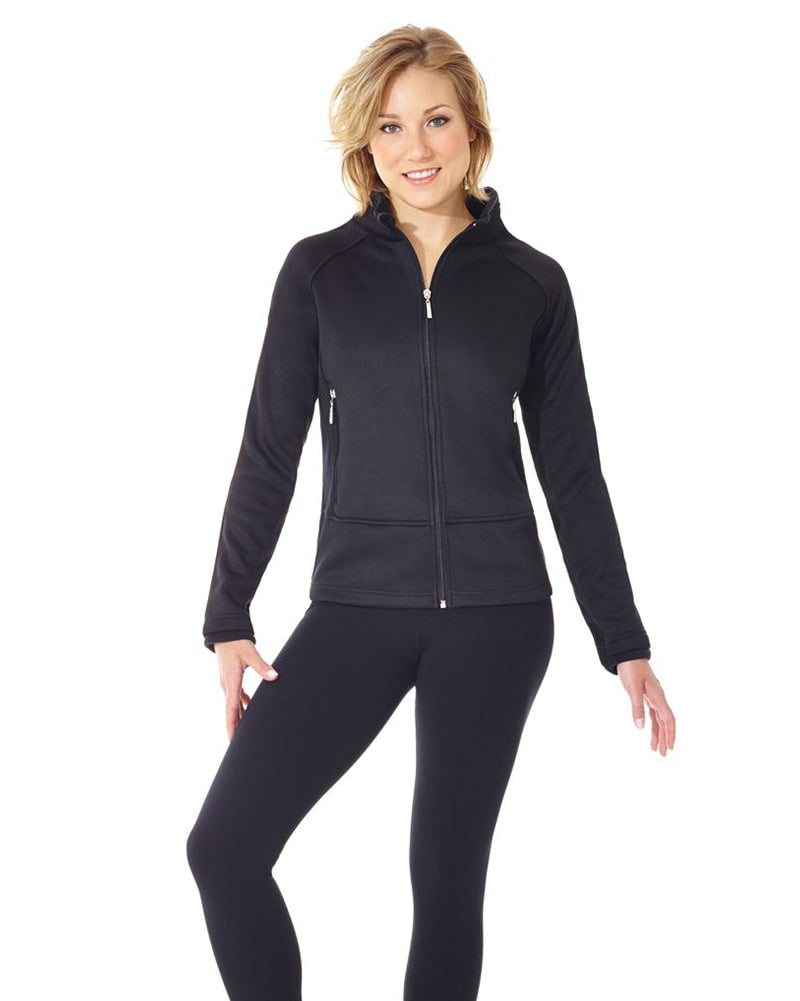 Mondor Polartec Performance Warm Up Skating Jacket - 4730C Girls - Dancewear - Skating - Dancewear Centre Canada