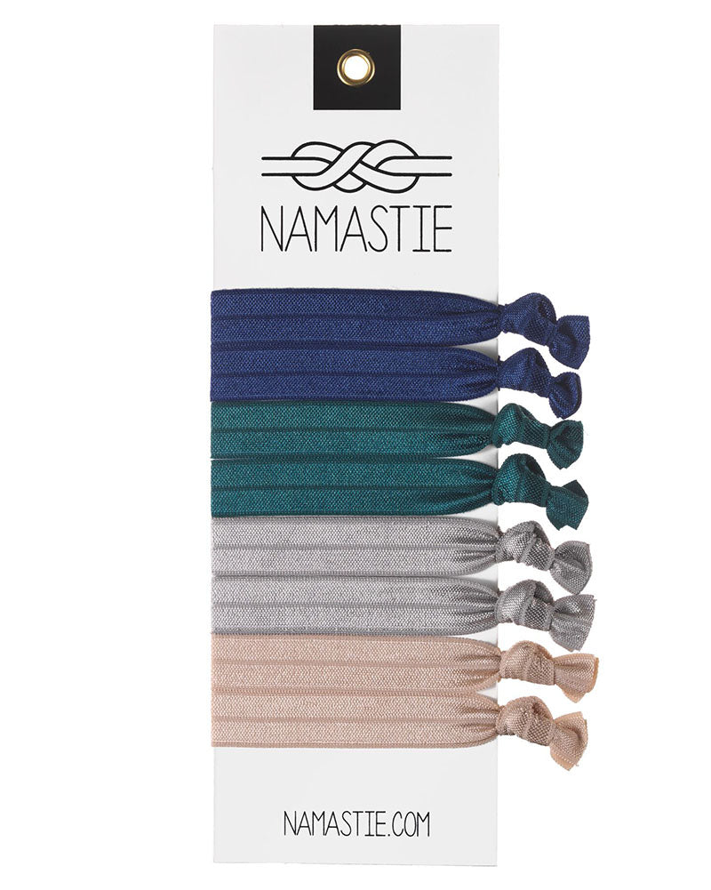 Namastie Yogi Hair Tie 8 Pack - Equestrian - Accessories - Hair Care - Dancewear Centre Canada