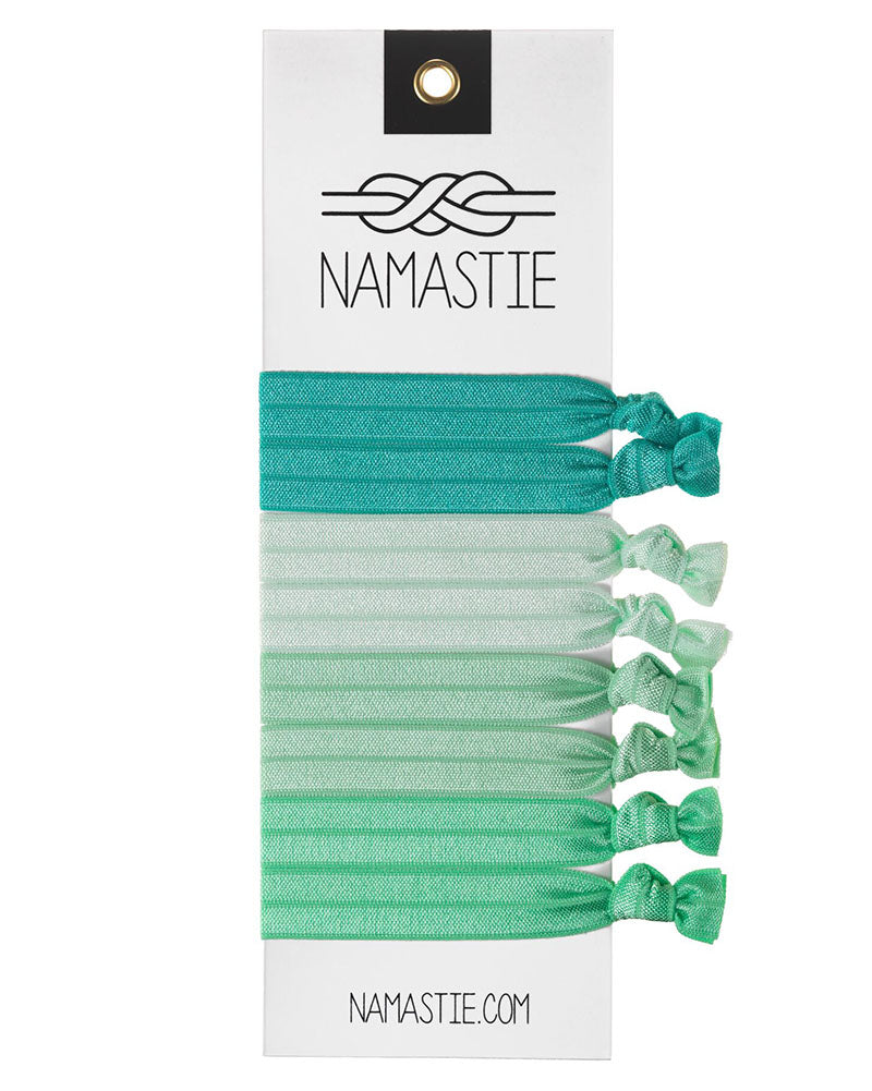 Namastie Yogi Hair Tie 8 Pack - The Naturelover - Accessories - Hair Care - Dancewear Centre Canada