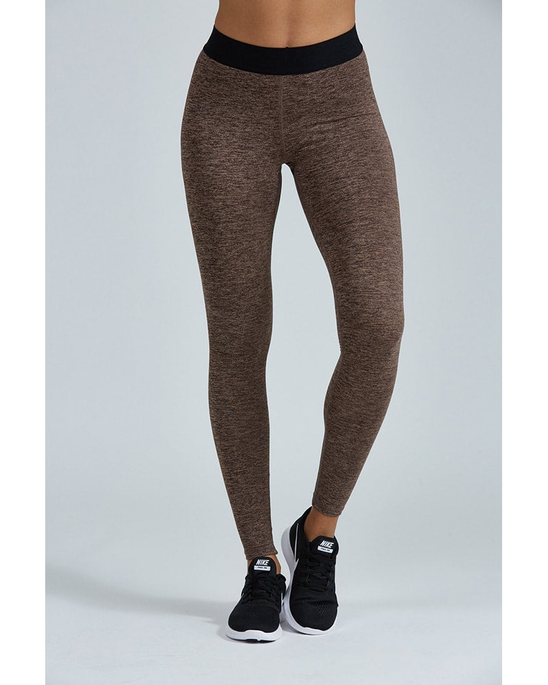 Noli Epic High Rise Legging - Womens - Mocha