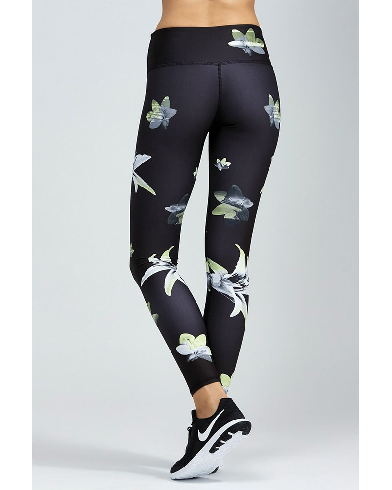Noli - Lilly Print Legging Black Womens