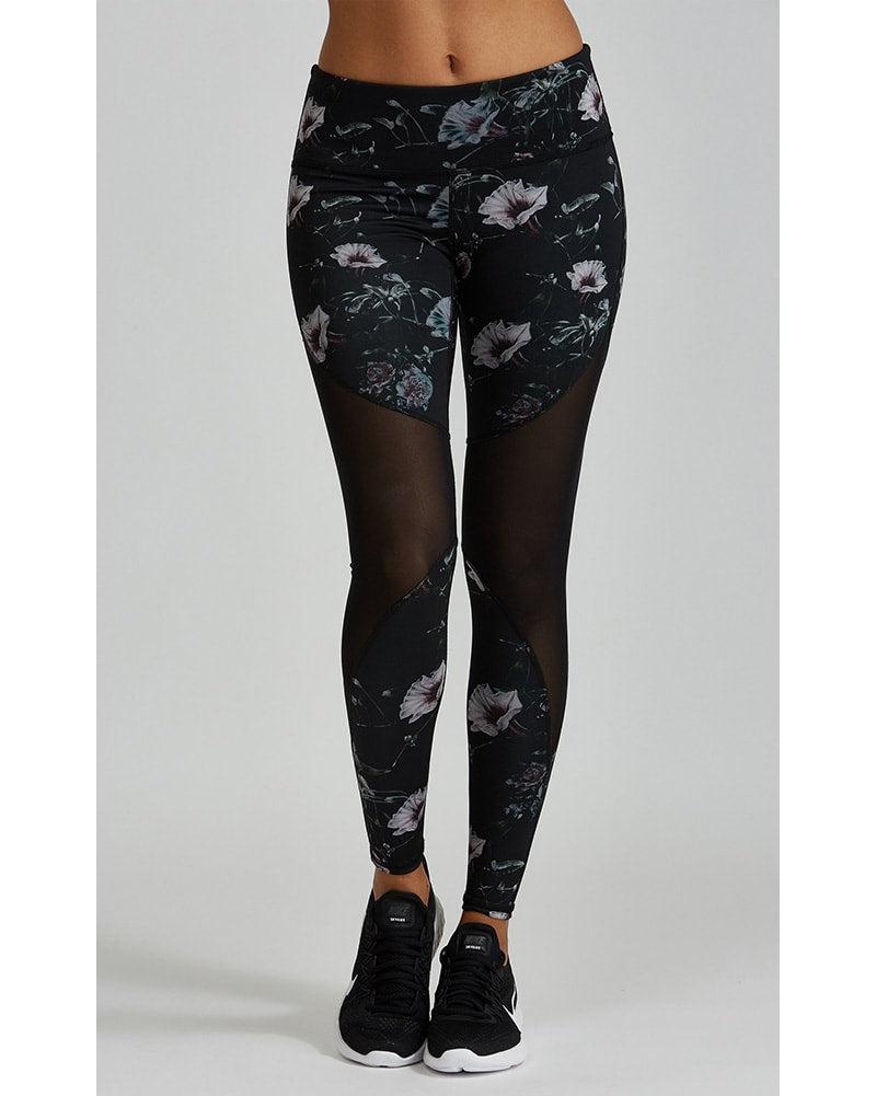 Noli Mila Legging - Womens - Fiore Print - Activewear - Bottoms - Dancewear Centre Canada