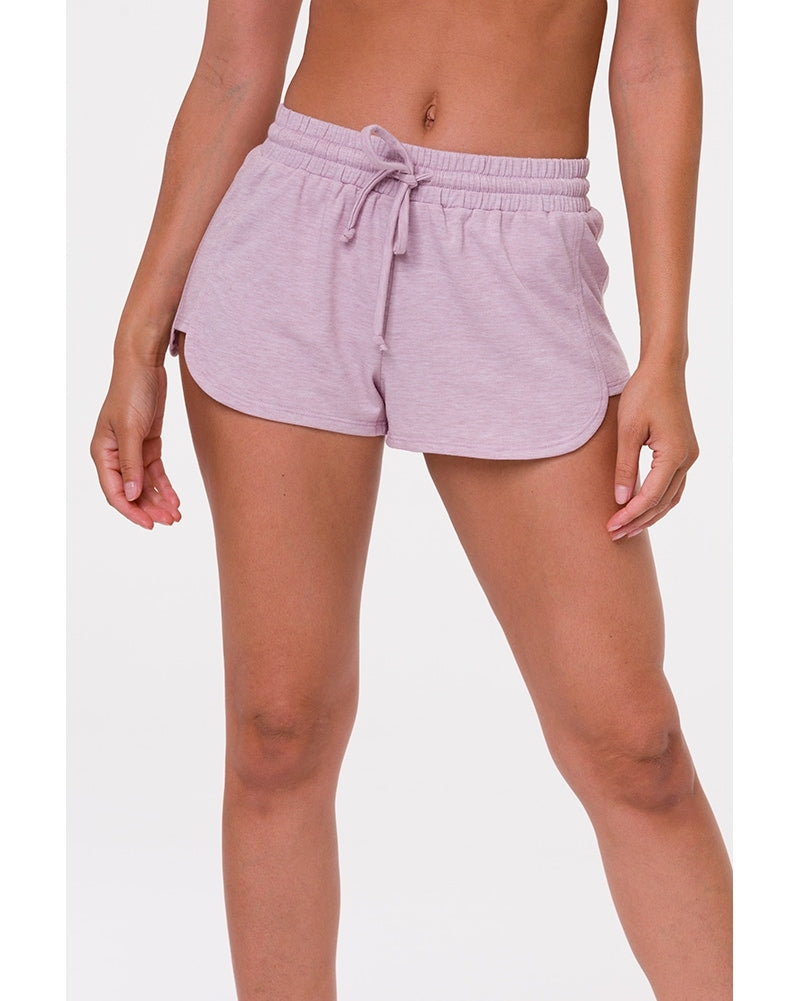 Onzie Divine Shorts - 2014 Womens - Heather Blush - Activewear - Bottoms - Dancewear Centre Canada