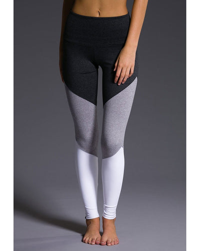 Onzie 2046 - High Rise Track Legging Slate Grey Womens - Activewear - Bottoms - Dancewear Centre Canada