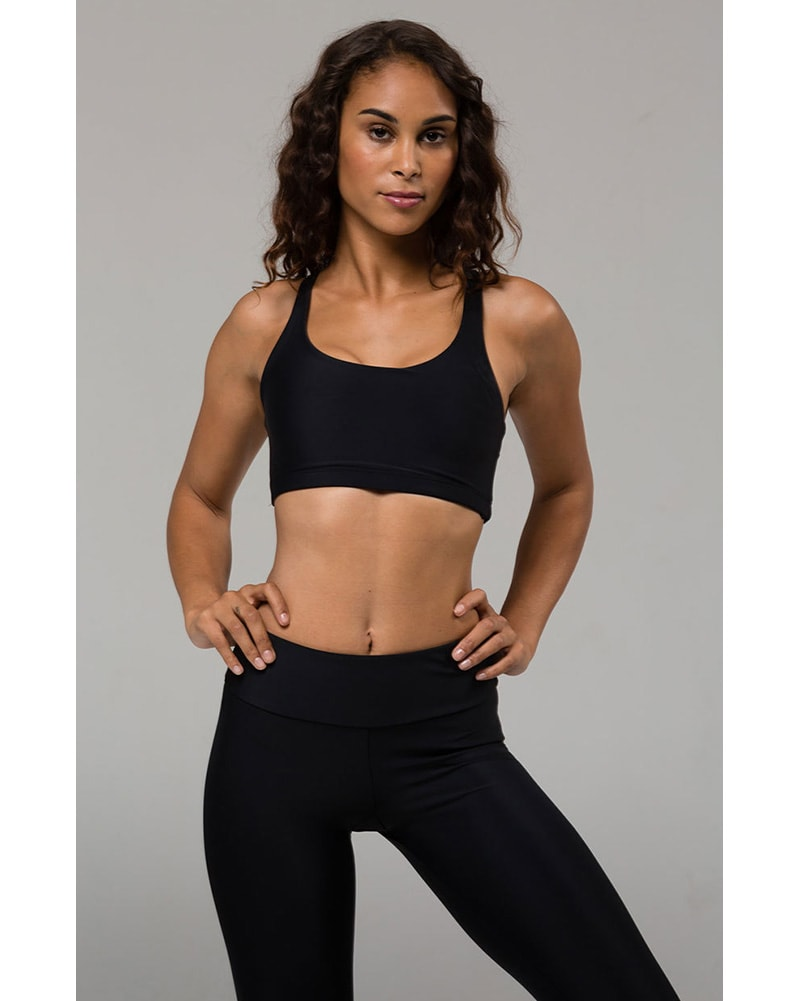 6d25f880c5 Onzie 354 - Chic Bra Black Womens - Activewear - Tops - Dancewear Centre  Canada
