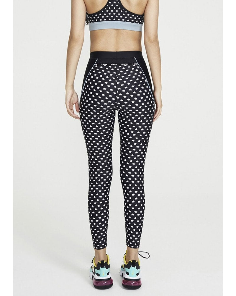 PE Nation Dominion Legging - Womens - Star Print - Activewear - Bottoms - Dancewear Centre Canada