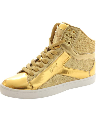Pastry Pop Tart Glitter Hip Hop Dance Sneakers - Womens/Mens - Dance Shoes - Dance Sneakers - Dancewear Centre Canada