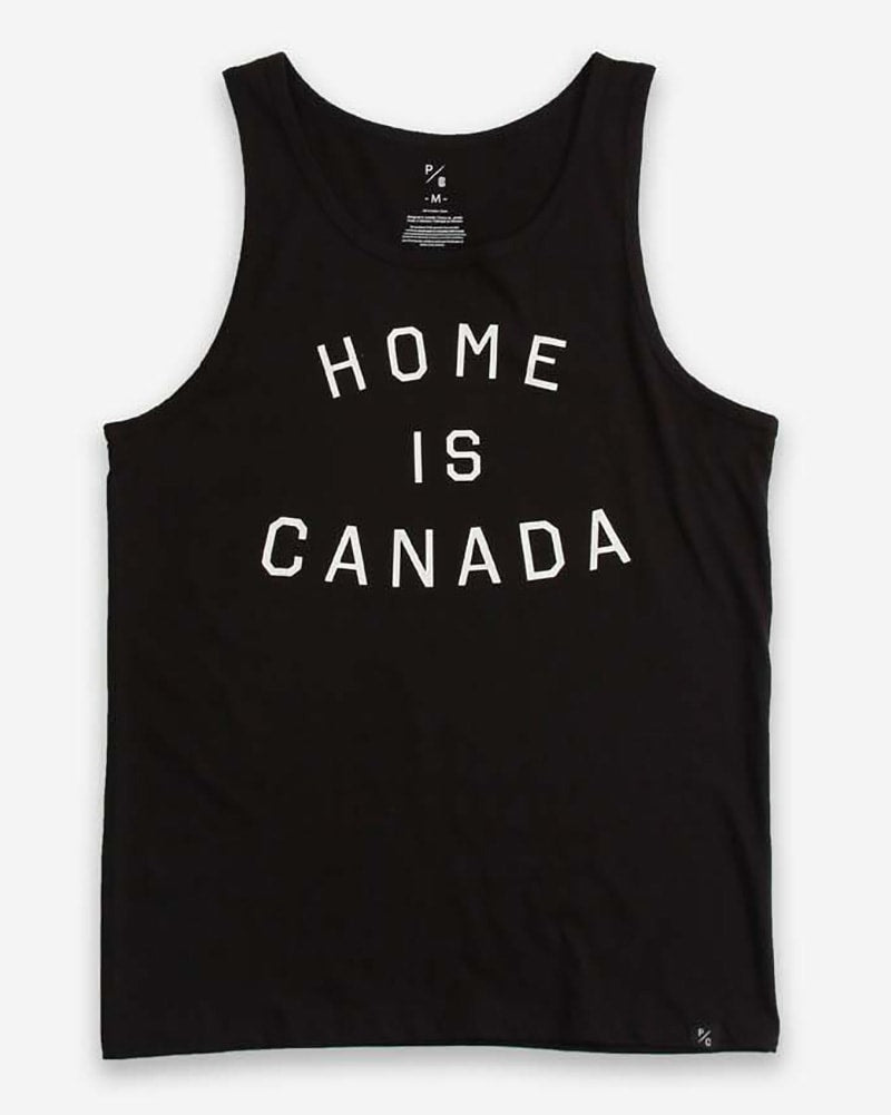Peace Collective Home Is Canada Tank Top - Womens/Mens - Black - Dancewear - Tops - Dancewear Centre Canada