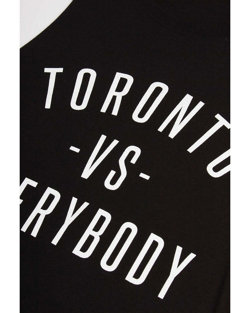 Peace Collective - Toronto -vs- Everybody Tank Top Black Womens/Mens