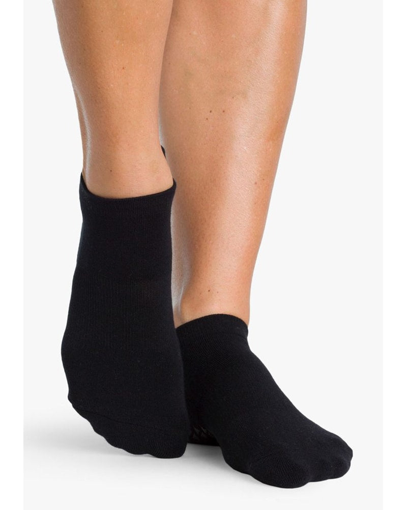 Pointe Studio Union Grip Sock - Womens - Black - Dancewear - Socks - Dancewear Centre Canada