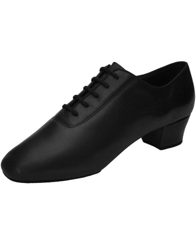 "Ray Rose - Ash Leather 1.5"" Cuban Heel Latin Ballroom Shoes Mens"