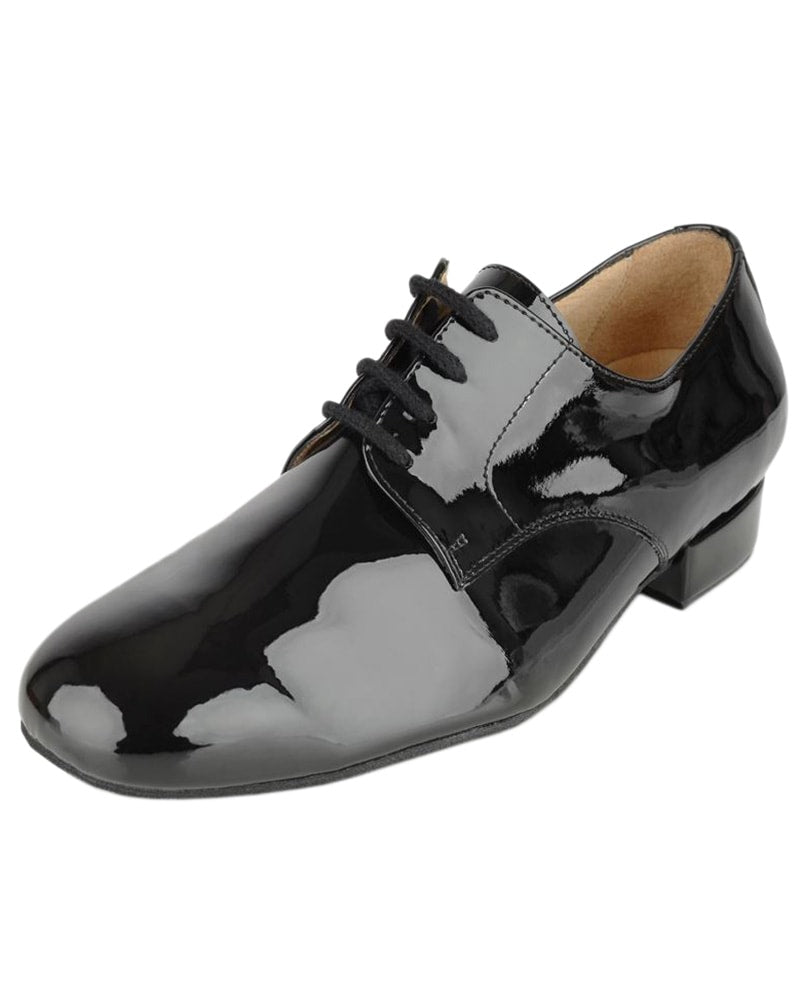 Ray Rose Ebony Gibson Patent Oxford Ballroom Shoes - Mens
