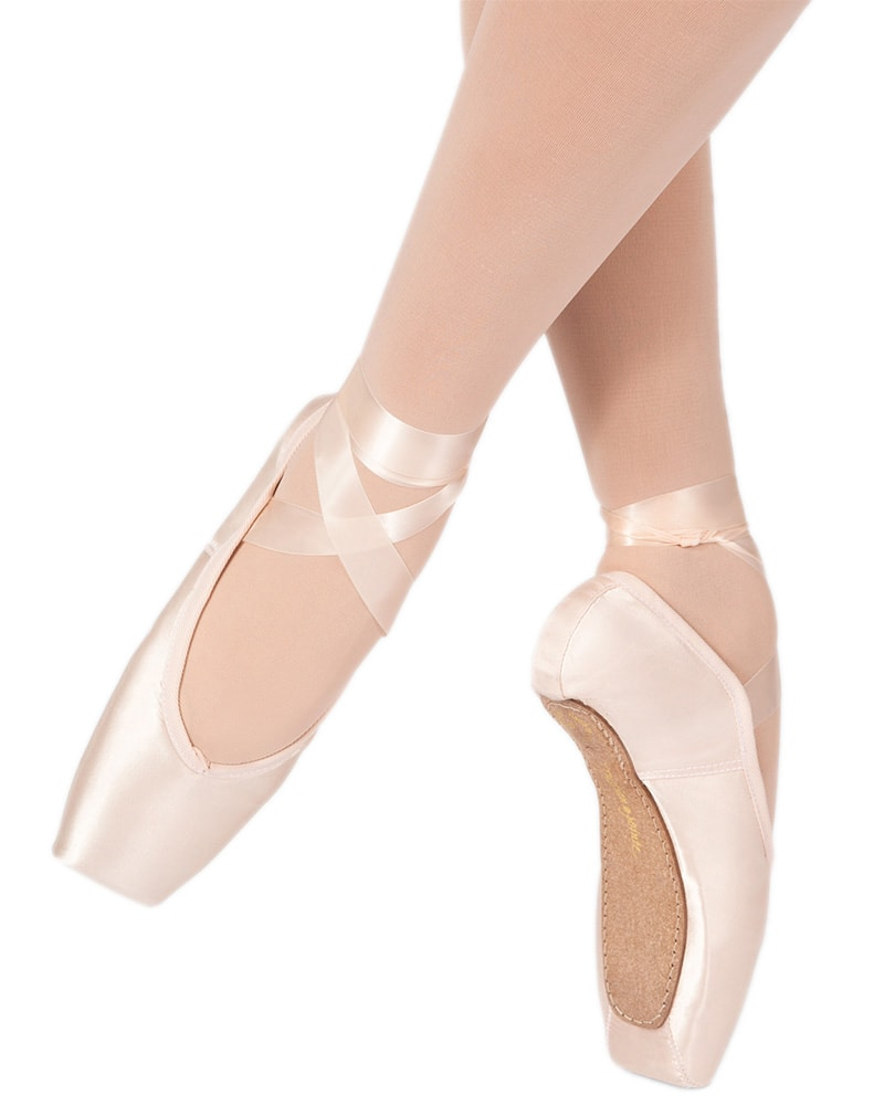 Russian Pointe - Almaz U Vamp Flex Medium Shank Pointe Shoes Womens - Dance Shoes - Pointe Shoes - Dancewear Centre Canada