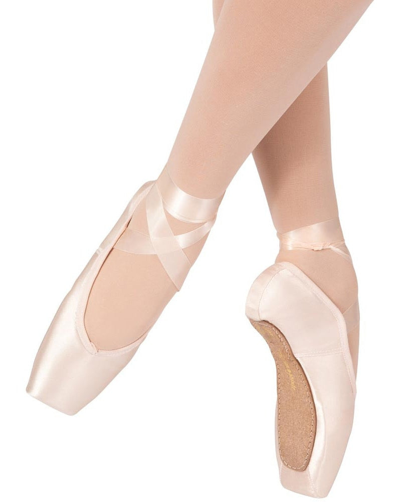 Russian Pointe - Brava U Vamp Flex Medium Shank Pointe Shoes Womens