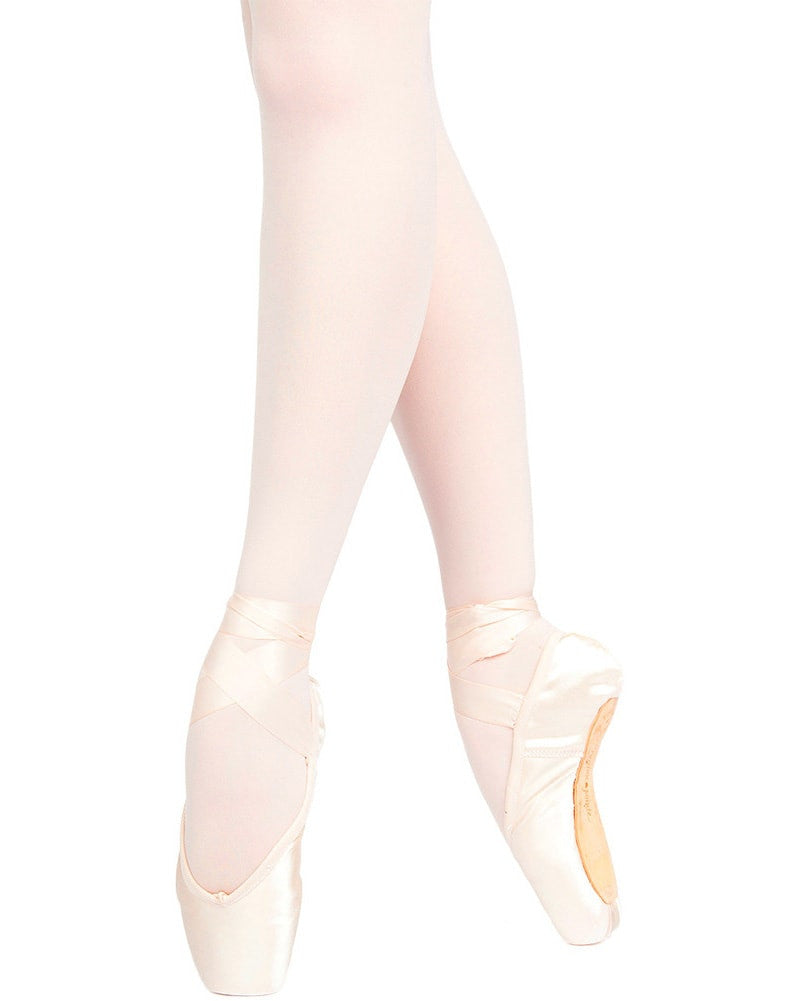 Russian Pointe - Encore U Vamp Flex Medium Shank Pointe Shoes Womens