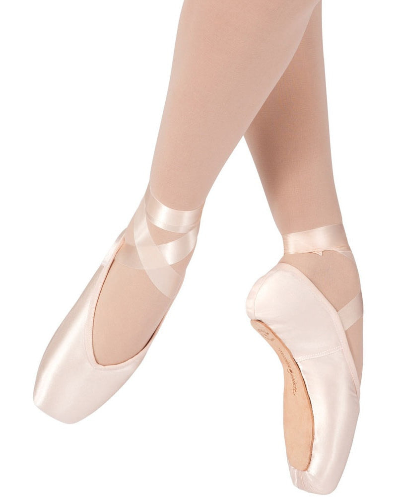 Russian Pointe Entrada Pro Pointe Shoes - U Vamp Flex Medium Shank - Womens