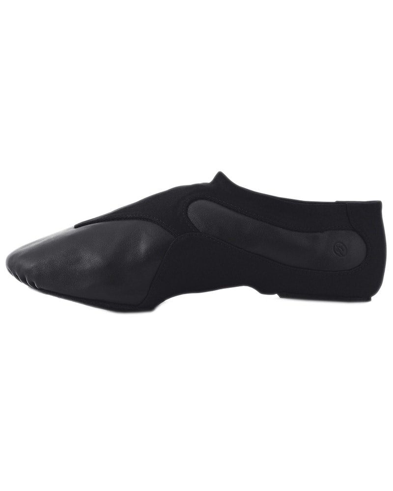 Russian Pointe Motion Neoprene Stretch Slip On Leather Jazz Shoes - Womens