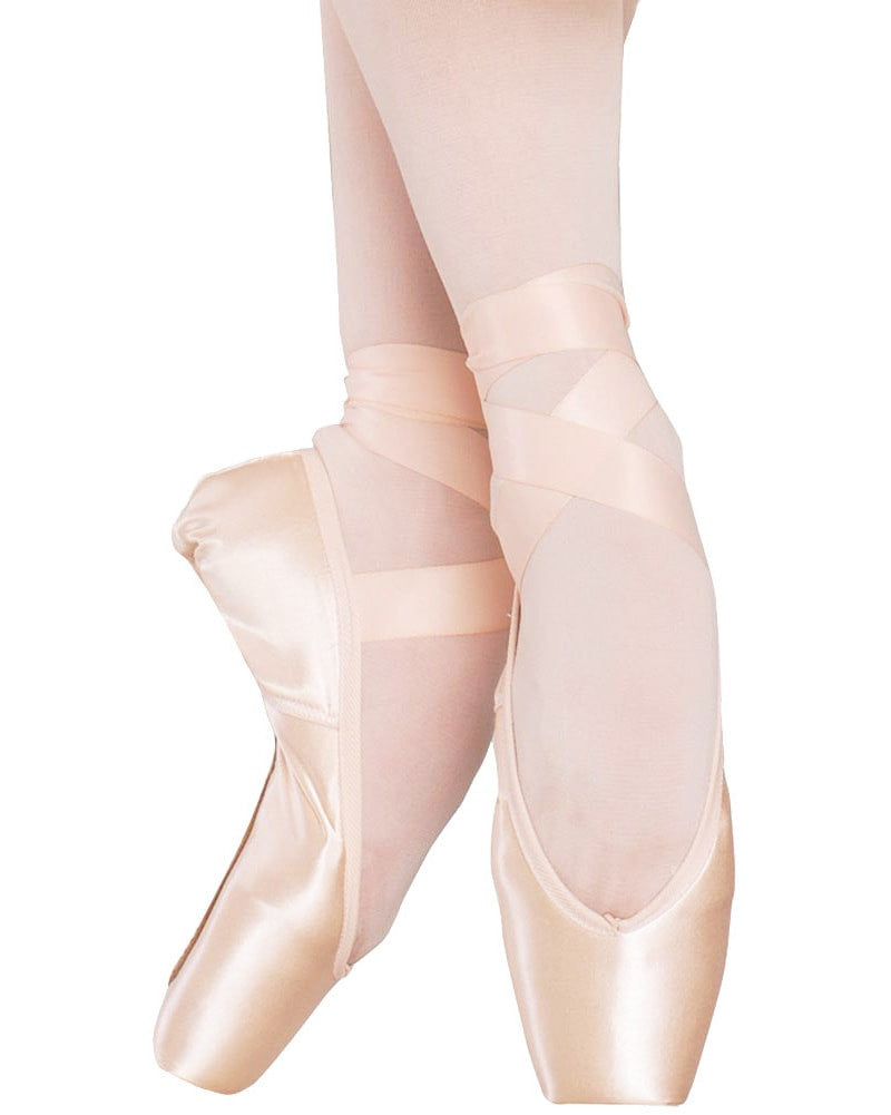 Russian Pointe Rubin U Vamp Flex Medium Shank Pointe Shoes - Womens