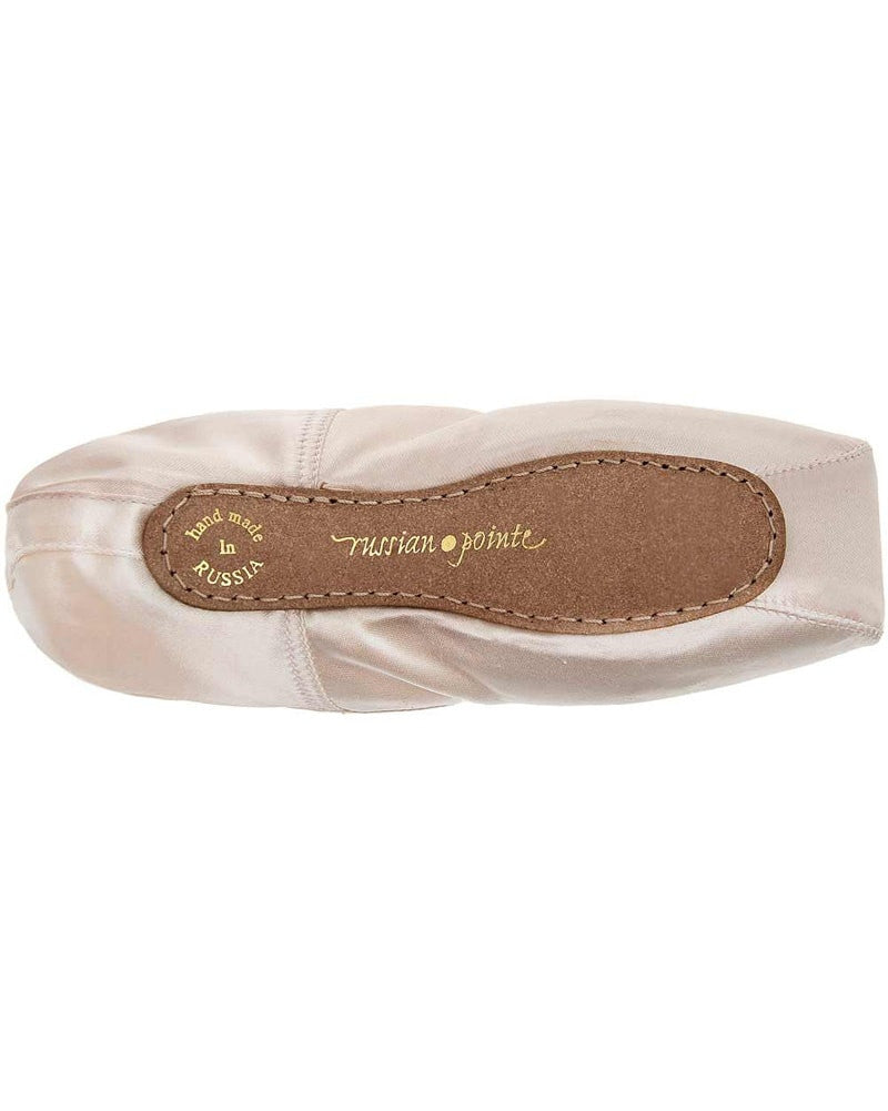 Russian Pointe Rubin Pointe Shoes - U Vamp Flex Medium Shank - Womens - Dance Shoes - Pointe Shoes - Dancewear Centre Canada