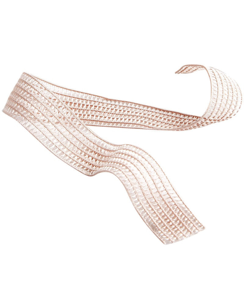 Russian Pointe Stretch Mesh Pointe Shoe Elastic - Light Pink