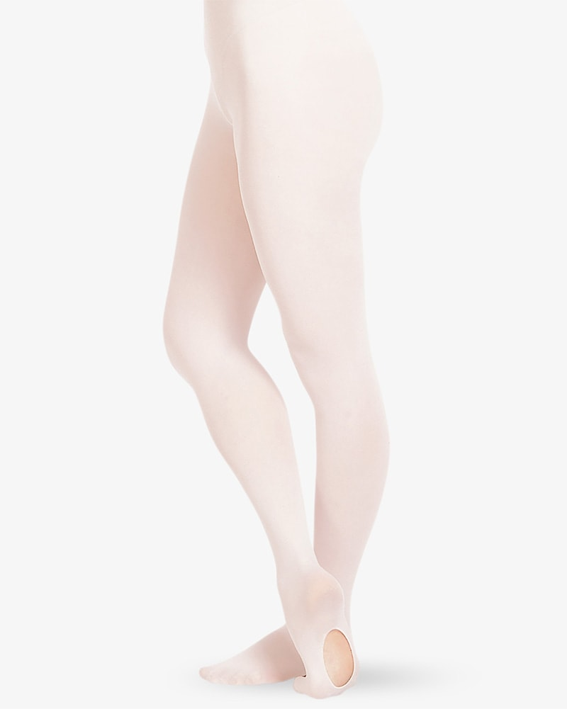 Russian Pointe - Ultra Soft Seamless Toe Convertible Dance Tights Womens