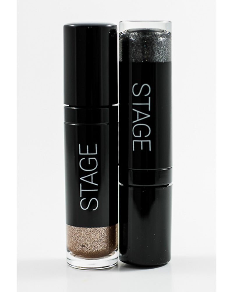 Stage Beauty Co. Liquid Eye Glitter Eyeshadow - Curtain Call Black - Accessories - Makeup - Dancewear Centre Canada