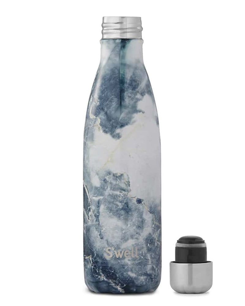 S'well Elements Collection Water Bottle 500 ml - Blue Granite