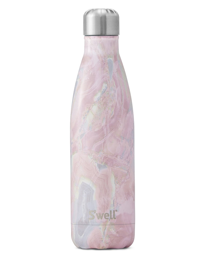 S'well Elements Collection Water Bottle 500 ml - Geode Rose - Accessories - Water Bottles - Dancewear Centre Canada