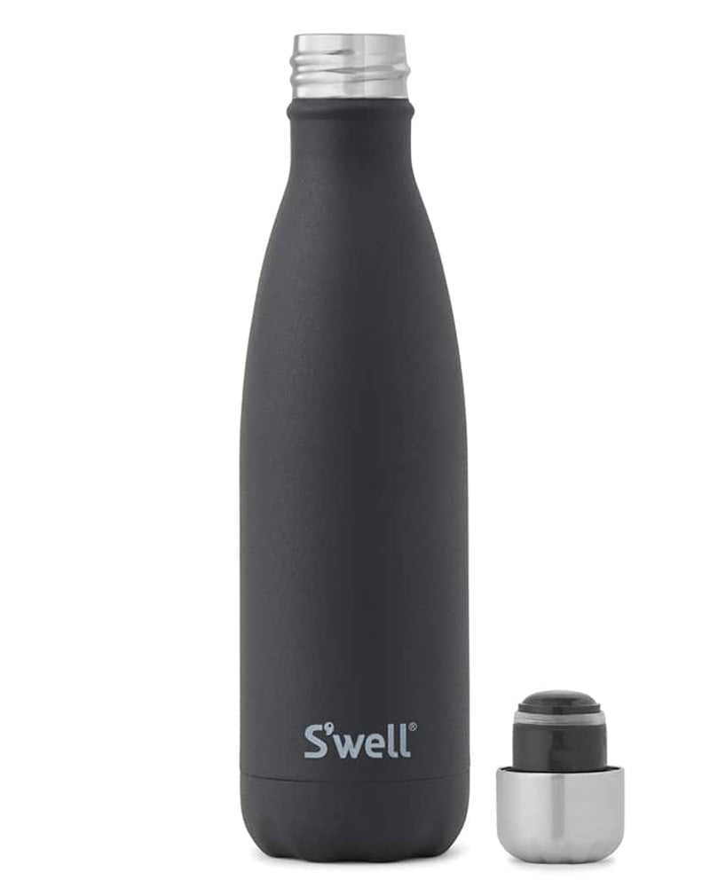 S'well Stone Collection Water Bottle 500 ml - Black Onyx - Accessories - Water Bottles - Dancewear Centre Canada