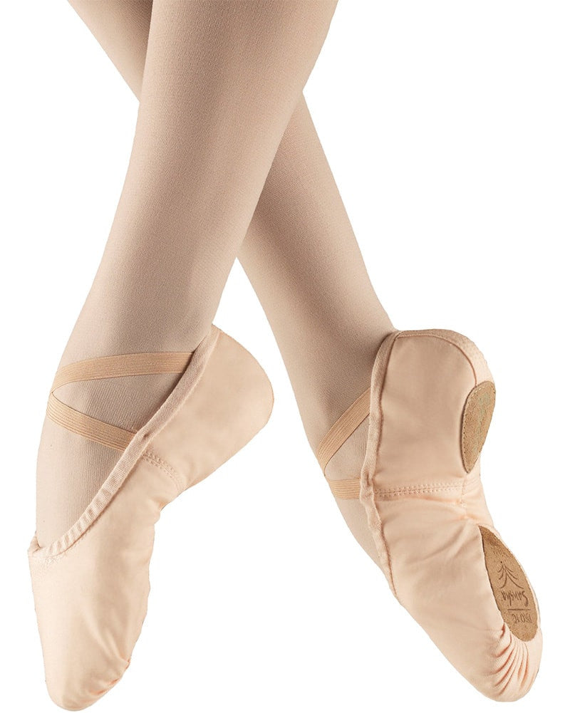 Sansha Pro Canvas Split Sole Ballet Slippers - 1C Womens/Mens - Dance Shoes - Ballet Slippers - Dancewear Centre Canada