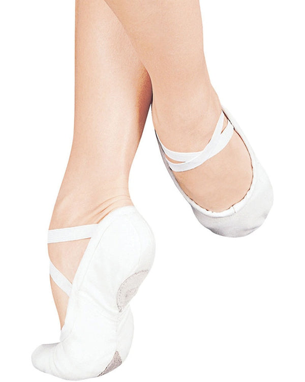 Sansha 1C - Pro Canvas Split Sole Ballet Slippers Womens/Mens - Dance Shoes - Ballet Slippers - Dancewear Centre Canada