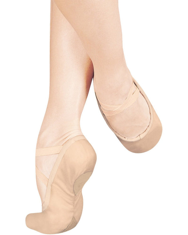 Sansha 1L - Pro Leather Split Sole Ballet Slippers Womens - Dance Shoes - Ballet Slippers - Dancewear Centre Canada