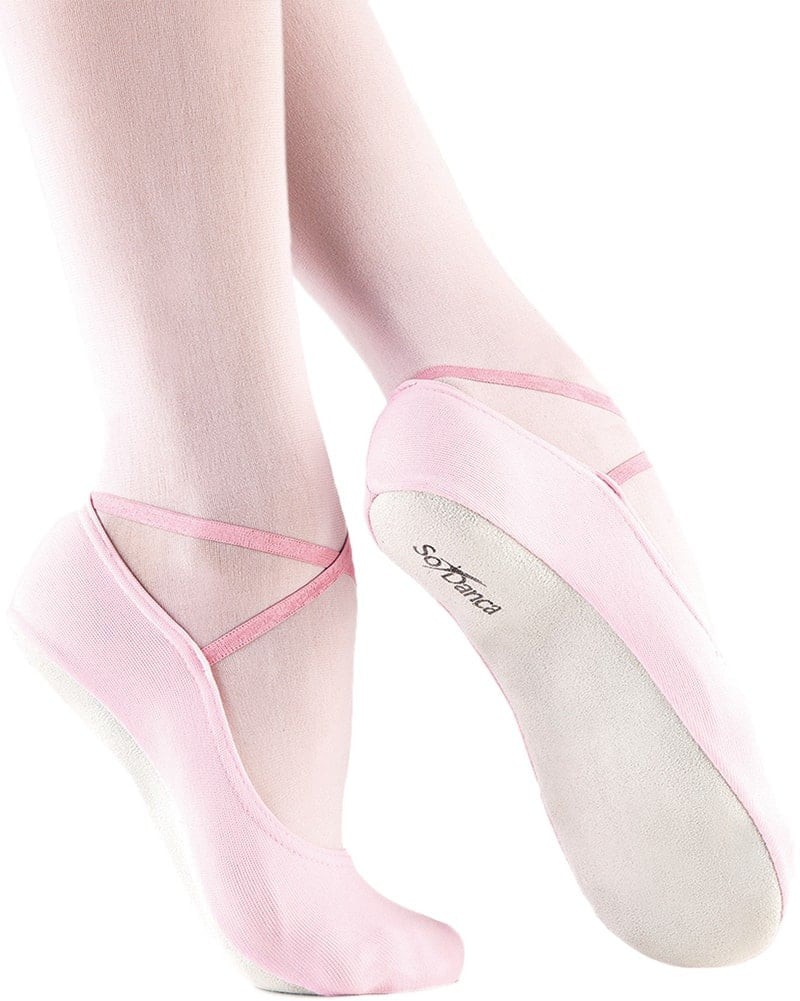 So Danca Dani Stretch Nylon Gymnastic Slippers - BA40S Girls/Boys - Dance Shoes - Gymnastic Shoes - Dancewear Centre Canada