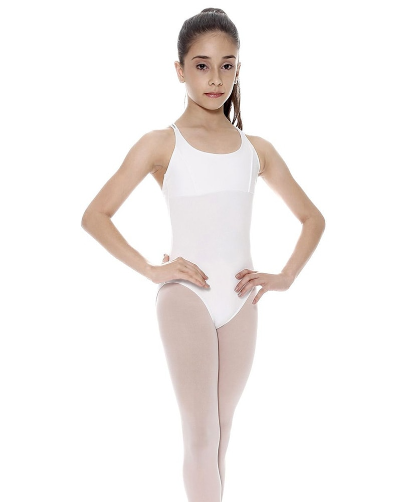 So Danca Lynn Double Strap Cross Back Camisole Leotard - SL19 Girls - Dancewear - Bodysuits & Leotards - Dancewear Centre Canada