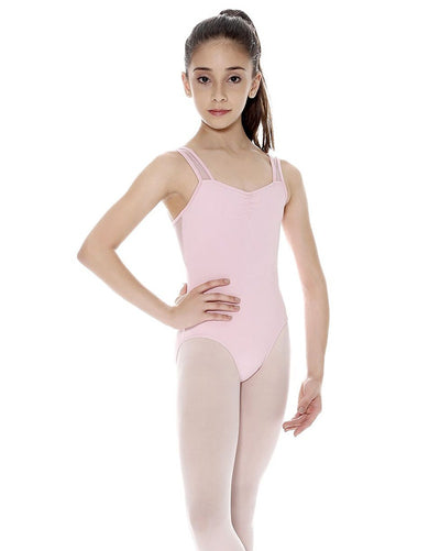 So Danca Marley Mesh Insert Tank Leotard - SL21 Girls - Dancewear - Bodysuits & Leotards - Dancewear Centre Canada